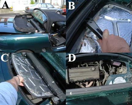Removal Of The Engine Inspection Cover